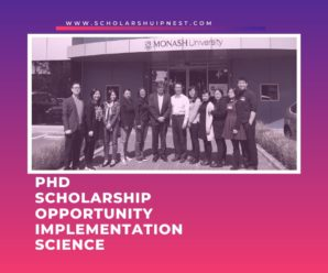 PhD Scholarship Opportunity Implementation Science in Primary Care at Monash University, Australia