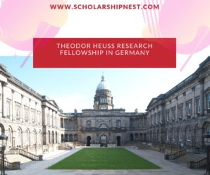 Theodor Heuss Research Fellowship in Germany