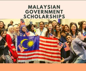 Malaysian Government Scholarships for Postgraduate Studies 2020