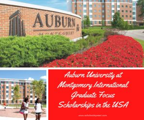 Auburn University at Montgomery International Graduate Focus Scholarships in the USA