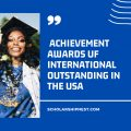 Achievement Awards UF International Outstanding in the USA