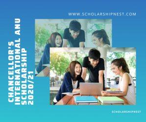 Chancellor's International ANU Scholarship 2020/21