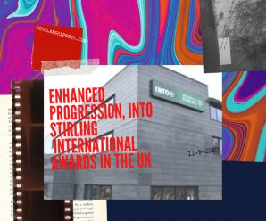 Enhanced Progression, INTO Stirling  international awards in the UK