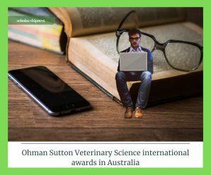Ohman Sutton Veterinary Science international awards in Australia