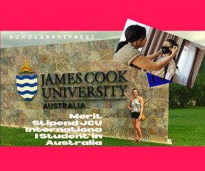 Merit Stipend JCU International Student  in Australia