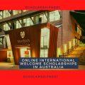 Online International Welcome Scholarships in Australia