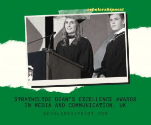 Strathclyde Dean's Excellence Awards in Media and Communication, UK