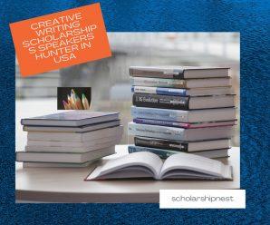 Creative Writing Scholarships Speakers Hunter in USA