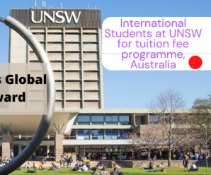 International Students at UNSW for tuition fee programme, Australia