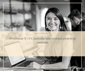Swinburne X CPA Australia international awards in Australia