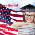 international awards, Graduate Studies Southern Maine, USA