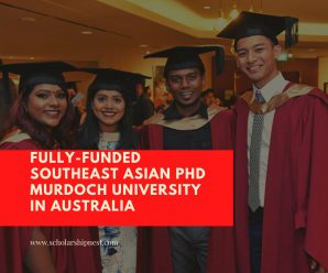 Fully-Funded Southeast Asian PhD Murdoch University in Australia