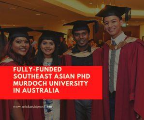 Fully-Funded Southeast Asian PhD Murdoch University in Australia