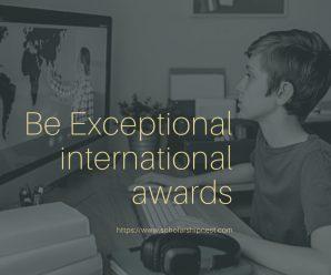 Be Exceptional international awards at University of York, UK
