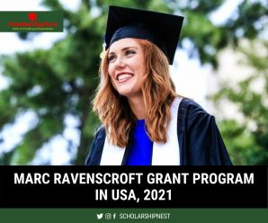 Marc Ravenscroft Grant Program in USA, 2021