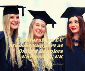 Scholarships EU Student Support at Oxford Brookes University, UK