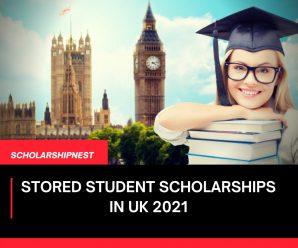 STORED Student Scholarships in UK 2021