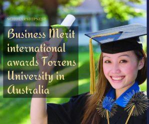 Business Merit international awards Torrens University in Australia