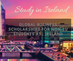 Global Business Scholarships for Non-EU Students at , Ireland