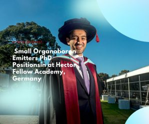 Small Organoboron Emitters PhD Positions in at Hector Fellow Academy, Germany