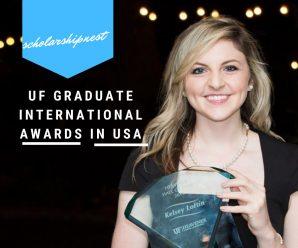UF Graduate international awards UF Graduate in USA