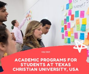 academic programs for Students at Texas Christian University, USA