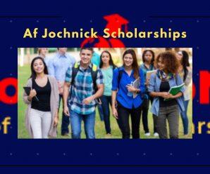 Af Jochnick Scholarships for International Students in Sweden