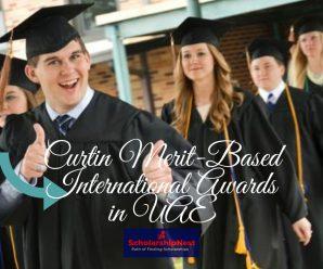 Curtin Merit-Based International Awards in UAE