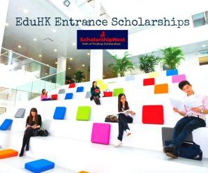 EduHK Entrance Scholarships  at Education University of Hong Kong