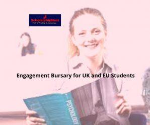 Engagement Bursary for UK and EU Students at University of East London