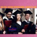 HCU Full tuition international awards in USA