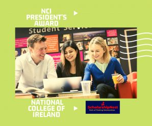 NCI President's Award for Int-Students at National College of Ireland