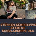 Stephen Semprevivo Startup Scholarships USA