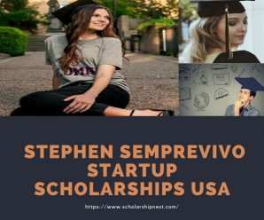 Stephen Semprevivo Startup Scholarships USA