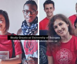 Study Grants at University of Bologna for International Students,2021-22