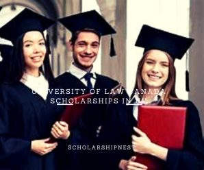 University of Law Canada Scholarships in UK