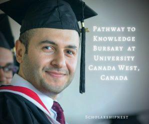 Pathway to Knowledge Bursary at University Canada West, Canada