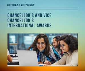 Chancellor's and Vice Chancellor's International Awards at Manchester Metropolitan University, UK