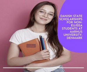 Danish State Scholarships for Non-EU/EEA Students at Aarhus University, Denmark