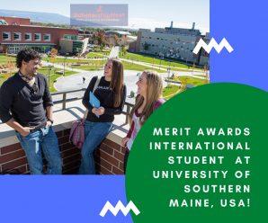 Merit Awards International Student  at University of Southern Maine, USA