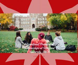 International Presidential Scholarships at Stratford University, USA