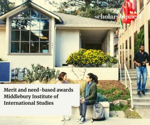 Merit and need-based awards  Middlebury Institute of International Studies