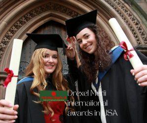Drexel Merit international awards in USA