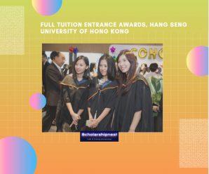 Full Tuition Entrance Awards, Hang Seng University of Hong Kong