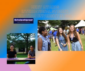 Merit Awards International Student Chatham University in USA