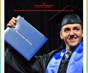 International undergraduate financial aid, Worcester State University, USA