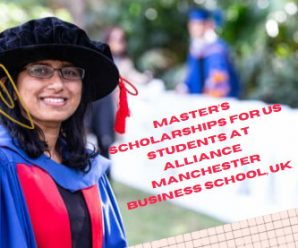 Master's Scholarships for US Students at Alliance Manchester Business School, UK