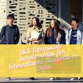 IBS Admission Scholarships for International Students in China