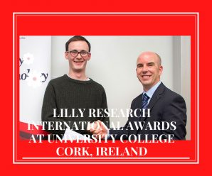 Lilly Research international awards at University College Cork, Ireland