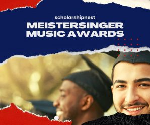 Meistersinger music awards for International at Wartburg College, USA